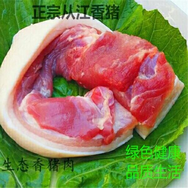 """绿色有机香猪肉""""巴马香猪 藏香猪 从江香猪 黑猪土猪肉"""