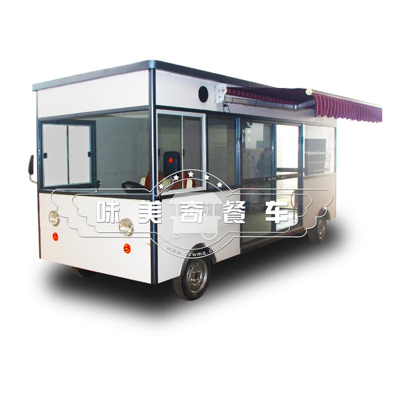 味美奇早点商用卤菜熟食小吃车移动油炸麻辣烫电动售货车