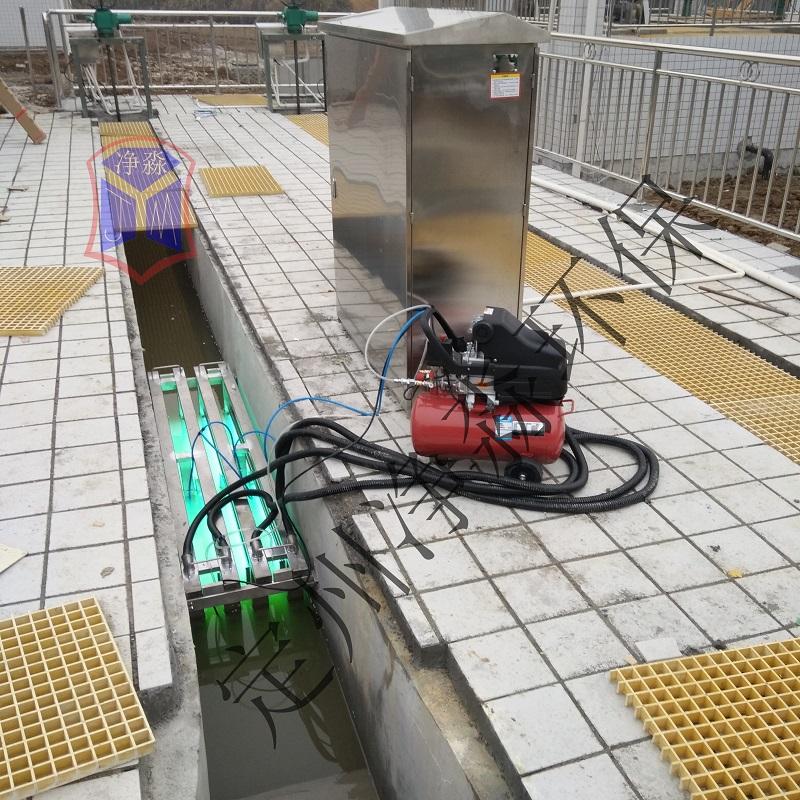 明渠式紫外線消毒設備污水處理設備框架式消毒滅菌儀保證驗收合格無二次污染