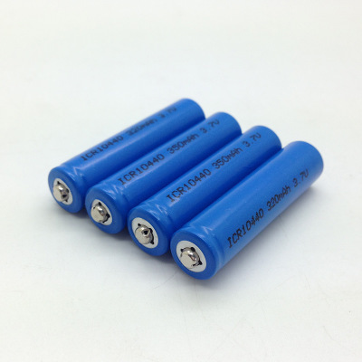10440 350mah 电池 锂电池10440 350mAh 3.7V 充电电池