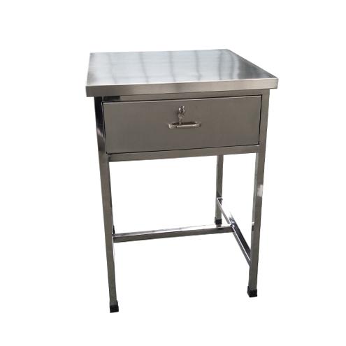 不锈钢单抽屉桌子课桌车间办公桌
