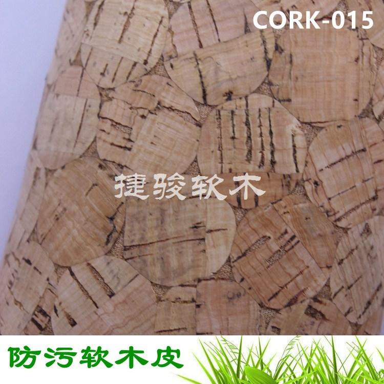厂家直供手袋专用面料防水防污软木纸库存充足CORK-015#