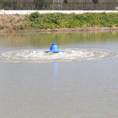 三相380V1.5KW涌浪式增氧机叶轮式养鱼虾塘大型增氧机