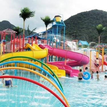 供应水上乐园设施 儿童水寨 戏水小品 水上滑梯厂家直销