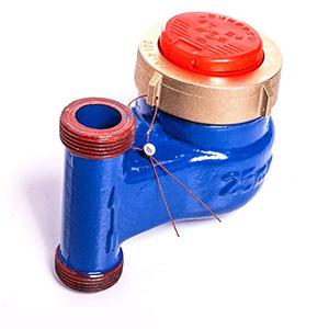 供应 家用远传水表厂家 立式全液封水表