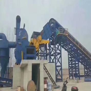 供应 废钢破碎机生产线 PSX型金属撕碎机废铁粉碎机