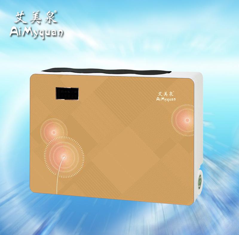供应 新款艾美泉家用 75RO智能五级过滤 反渗透净水器 Q08蒲公英粉
