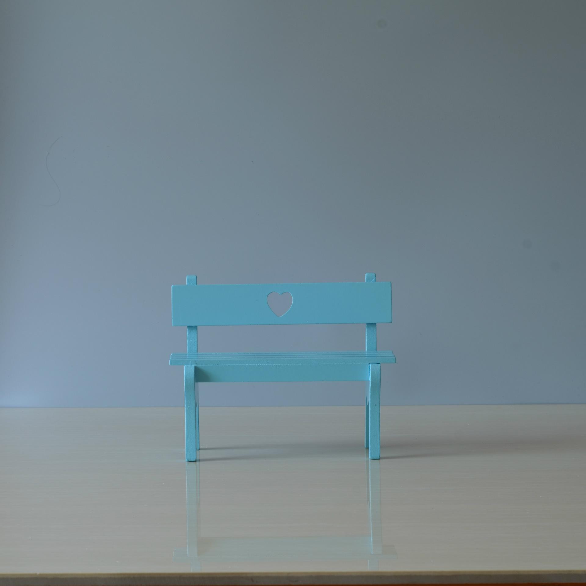 家居摆件ins装饰小椅子木质工艺品 少女心木质摆件创意礼品批发