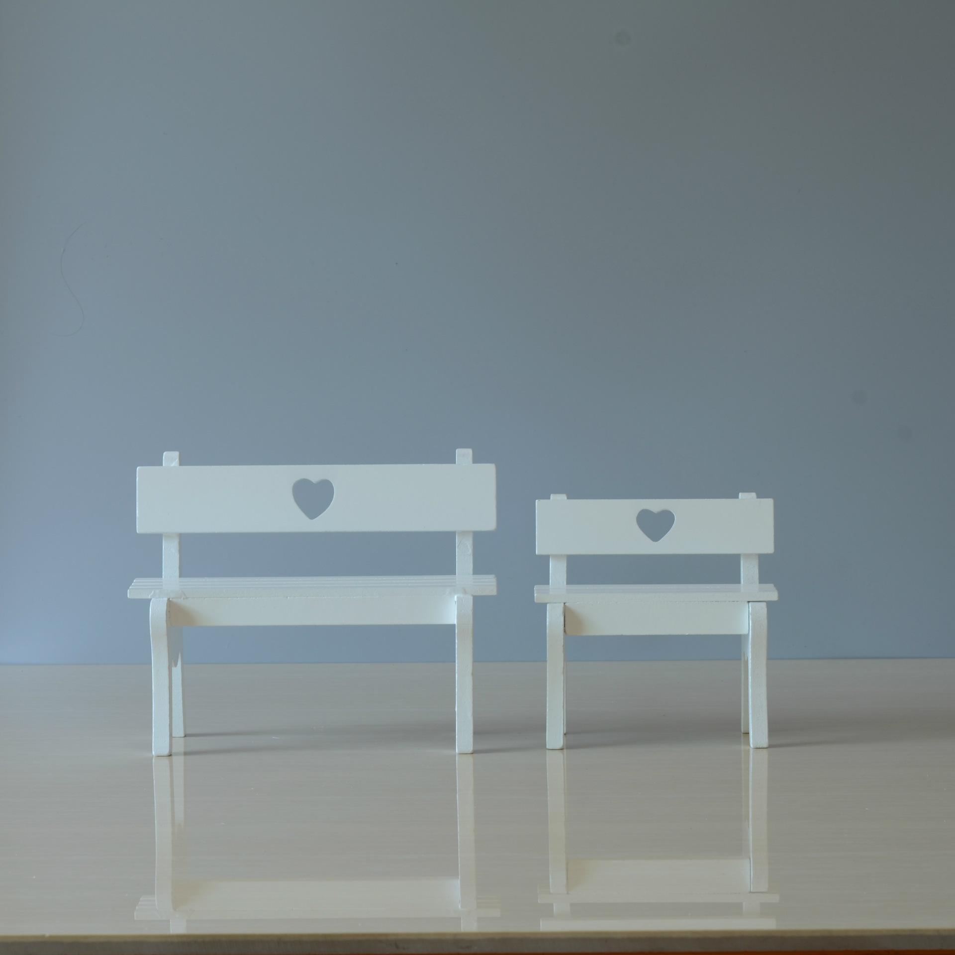 小椅子木质工艺品 少女心木质摆件创意礼品批发