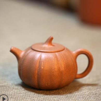 供应 一水堂宜兴紫砂壶茶壶 原矿真品全手工 老段泥 南瓜壶