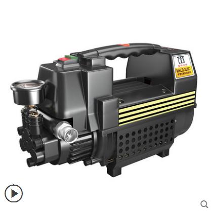 供应 洗车神器220V家用大压力刷车高压泵自助清洗机迷你便携式水枪泡沫