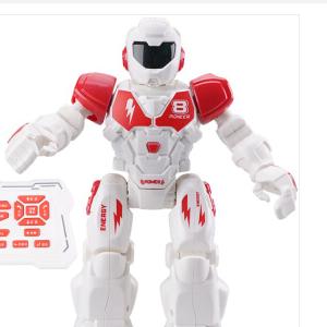 遥控机器人玩具智能电动编程行走早教科普语音 红色