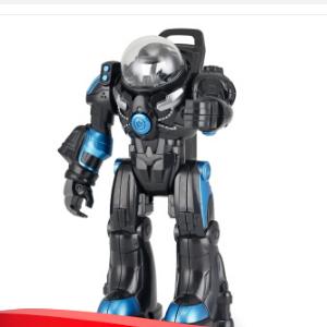太空一号RS战警迷你版变形机器人 带声光口袋玩具 77100 宇宙黑