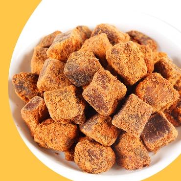 酱烤五香香辣味牛肉粒100g 牛肉干肉类特产休闲零食小吃
