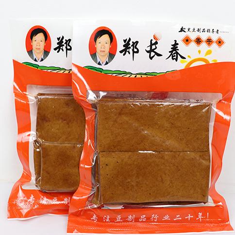 郑长春,180g×40袋,精选优质大豆,入口细腻,豆香浓郁,特别浓郁的香味,郑长春五香豆干