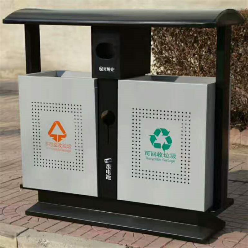 垃圾箱垃圾桶 户外分类垃圾箱 河北垃圾桶厂家 240L垃圾桶