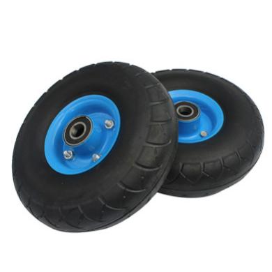 供应 手推车实心轮胎 耐磨防爆轮子 老虎车橡胶轮子