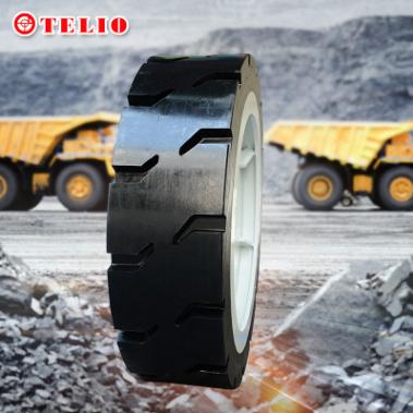 供应 实心轮胎1600X455 产品规格齐全标准化设计满足车辆配套要求
