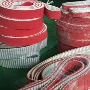钢丝同步带 红胶同步带 白色钢丝齿形带 意大利MEGADYNE麦高迪同步带 进口皮带钢丝齿形带