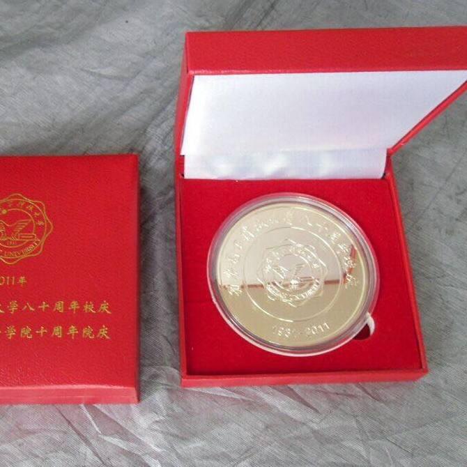 西安纪念币制作厂实体工厂 免费设计 品质保证