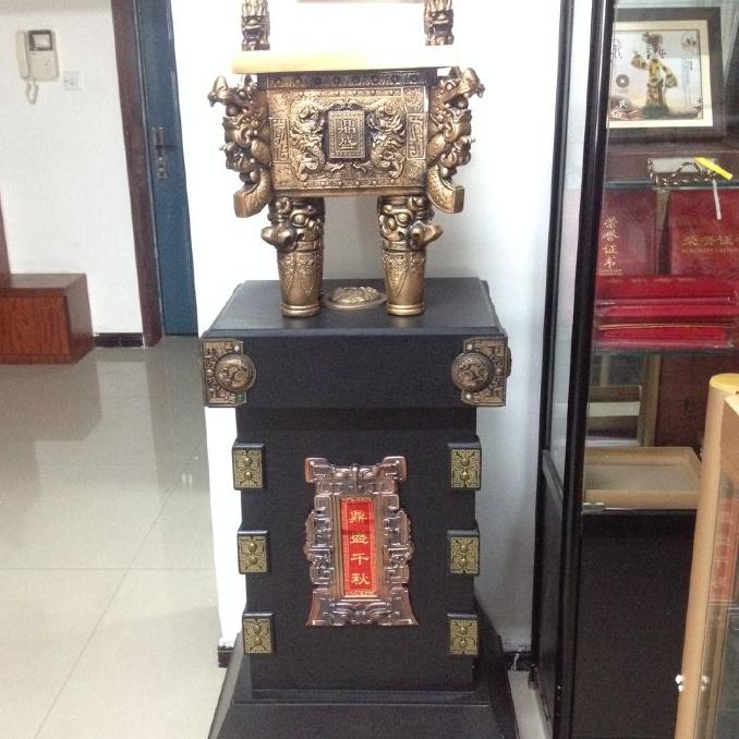 西安策腾开业大鼎销售 2米开业青铜鼎 大气磅礴