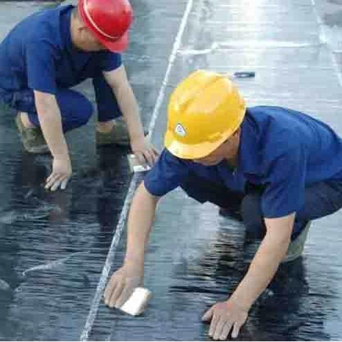 1.5厚PET聚酯膜单面粘-聚酯复合防水卷材建材生产价