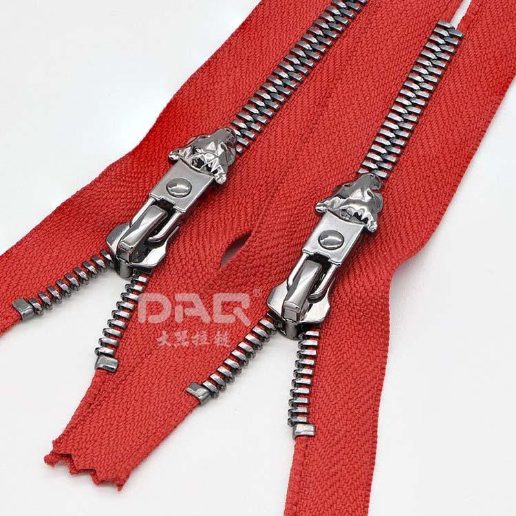 大器拉链DAQ品牌:高端鞋用拉链,马靴拉链,金属拉链个性定制
