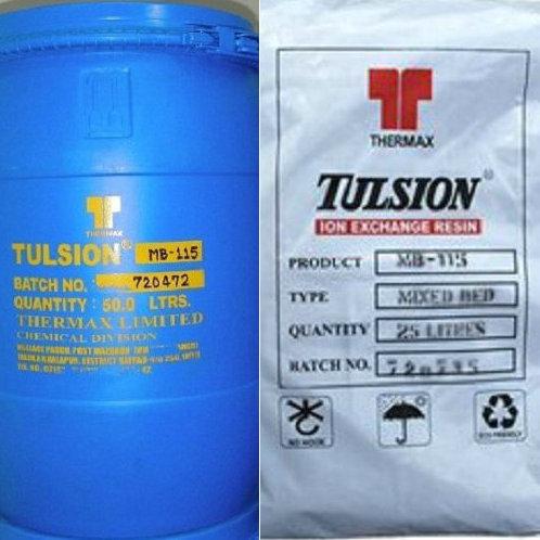 高盐废水中钙镁离子的去除专用树脂在膜浓水中的运用