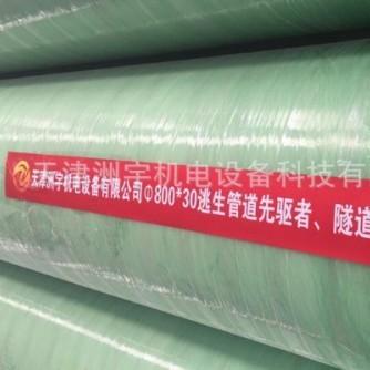 玻璃钢管道|隧道逃生逃生专用