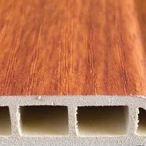 佛山斯柏林 DJX-100-1 生态木塑地脚线 仿原木木塑地脚线 厂家直销