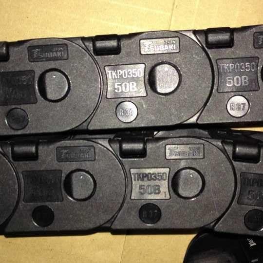 椿本拖链TKP0350-50B-R37 TSUBAKI塑料电缆线槽日本现货供应