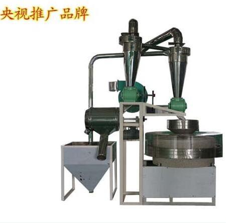 不锈钢材质全自动石磨面粉机 一小时加工100多斤电动石磨