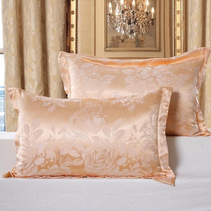 欧美流行风床上用品枕套