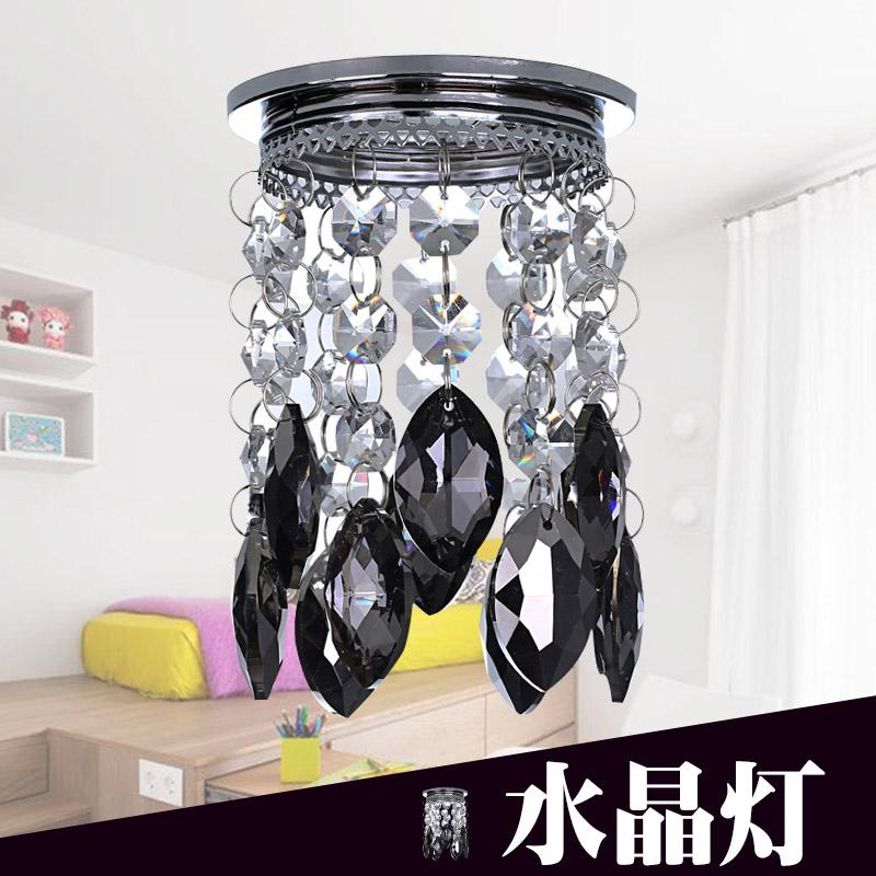 水晶筒灯 天花灯 吸顶灯 水晶射灯 水晶灯 客厅 走廊过道灯 LED C5305