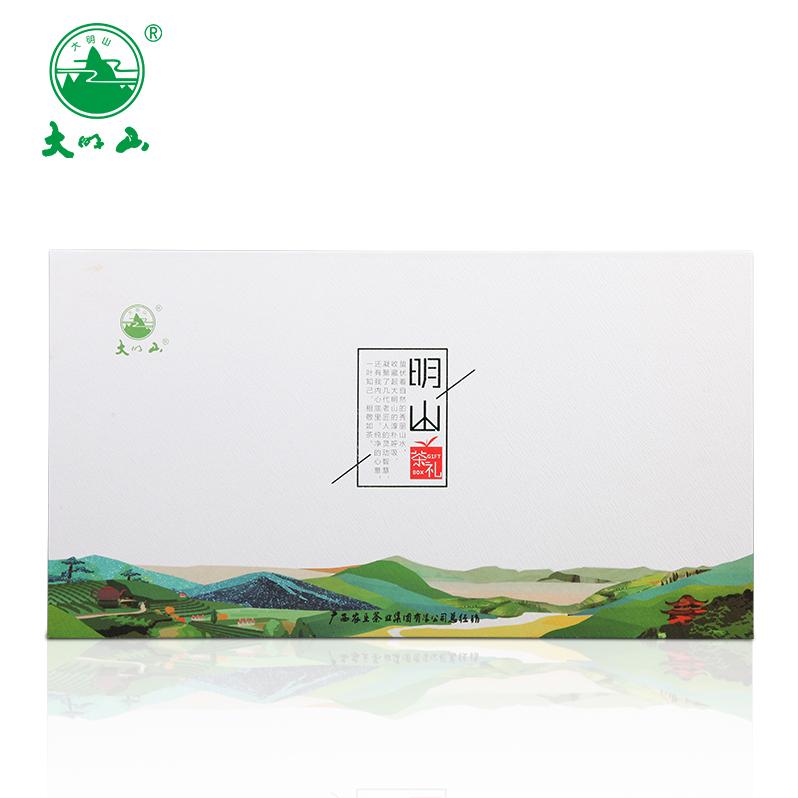 广西农垦茶叶   大明山茶叶 桂派山水 精美礼盒装 什锦组合180g
