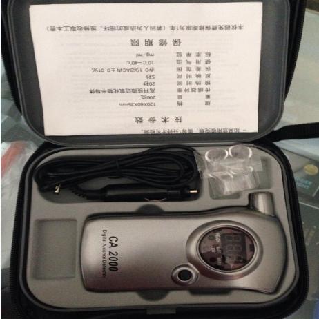 西安CA2000呼吸式酒精检测仪15591059401