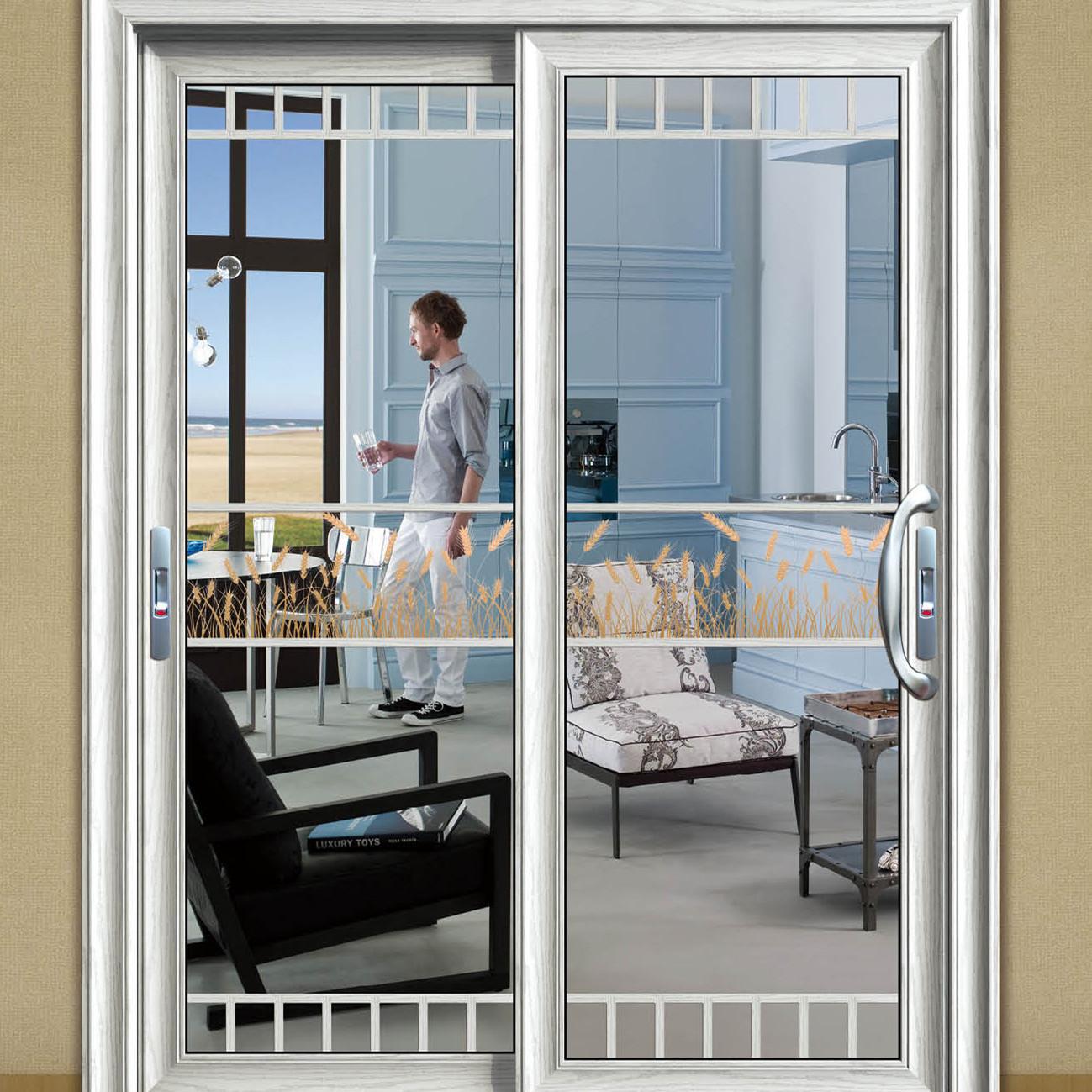 新蔡铝合金门窗加工厂-洗手间门-推拉门33