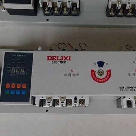 供应德力西CDQ3-400 4P CDQ3-630 4P双电源转换开关