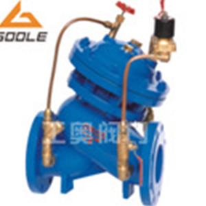 J145X隔膜式电动遥控阀水力控制防护