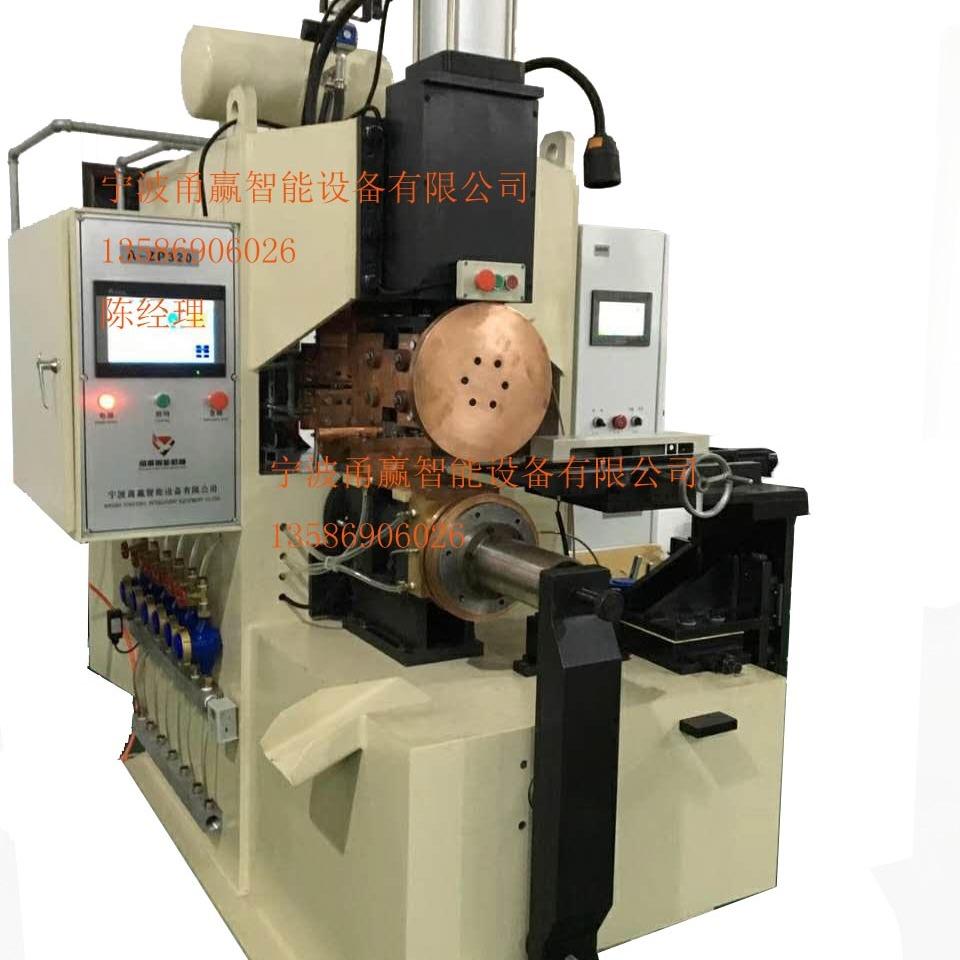 刹车蹄焊接设备半自动中频滚焊机单筋蹄滚焊机刹车蹄焊机