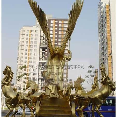 胜利女神雕塑_人物雕塑铸造厂家_志彪