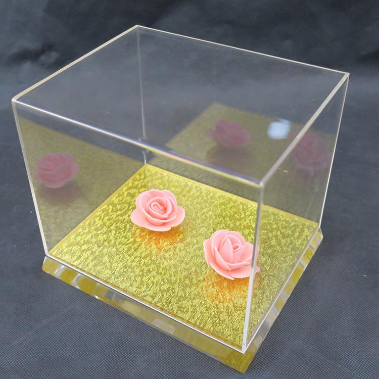 供应有机玻璃礼品收纳盒直接厂家一手货源优质优价
