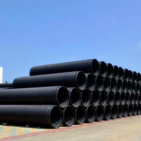 批发生产统塑HDPE埋地排水用中空壁缠绕管