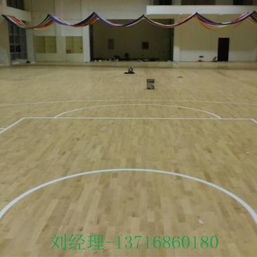篮球木地板 实木地板规格 运动木地板厂家全国包安装