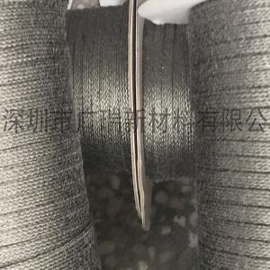 大规格不锈钢套管,高温防火套管,不锈钢金属纤维高温套管有效遏制玻璃崩边