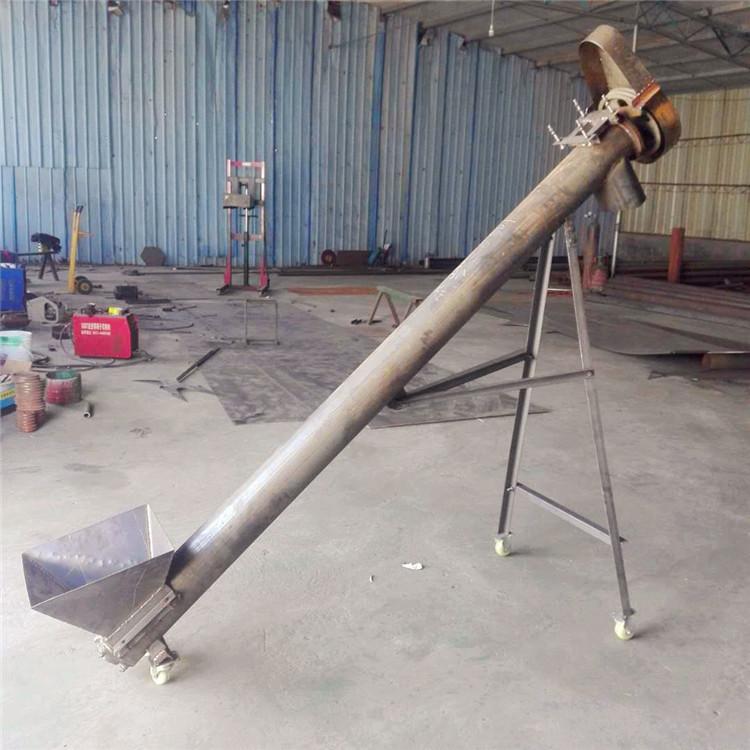 U型螺旋输送机-水泥罐螺旋输送机价格-山东自动上料机