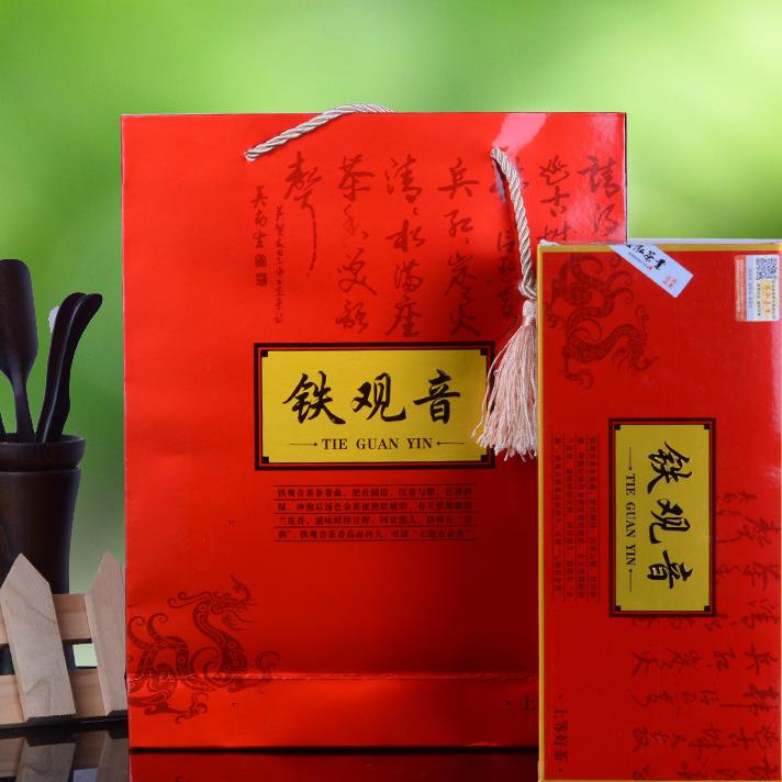 供应  铁观音 茶叶 茗茶 礼盒装 烟条礼盒