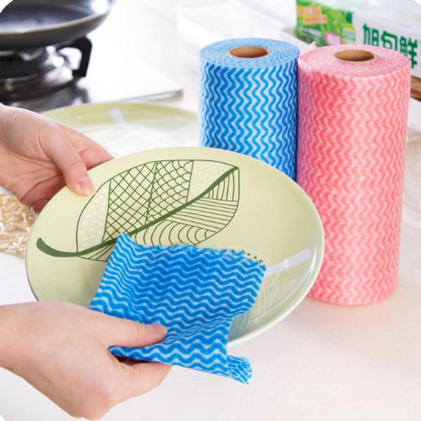 恩沃德不沾油百洁布加厚吸油擦地板清洁布擦玻璃擦桌布厨房抹布
