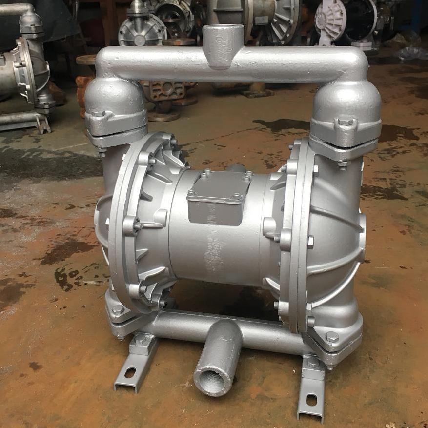 QBY铝合金气动隔膜泵 隔膜泵出厂价 隔膜泵批发