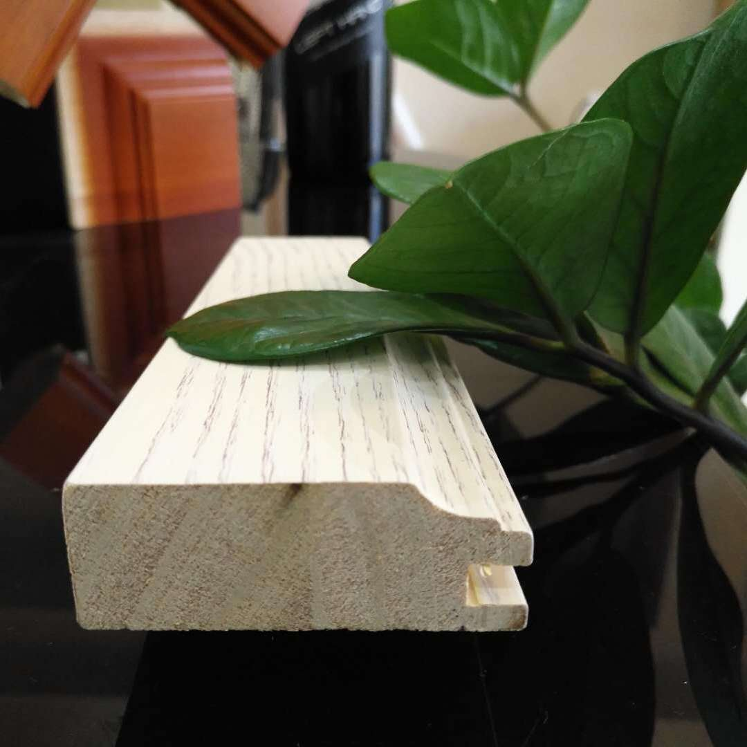 进口白蜡木家具装饰线白蜡木橱柜罗马柱NDE-75斯柏林现货批发